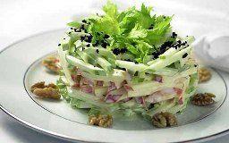 Рецепты салатов с сельдереем