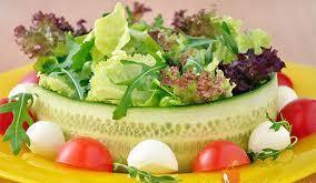 Меню салатной диеты