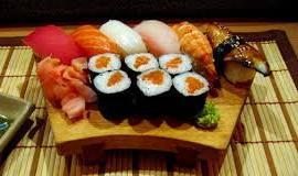 Примерное меню диеты на суши