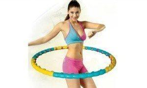 Упражнения для похудения с хулахуп.