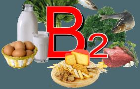 Продукты с большим содержанием витамина В2 рибофлавина.