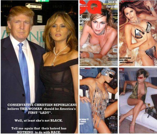 Мелания Трамп - фото и факты биографии